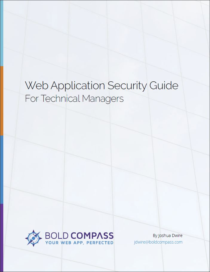 Web App Security Guide - For Technical Managers